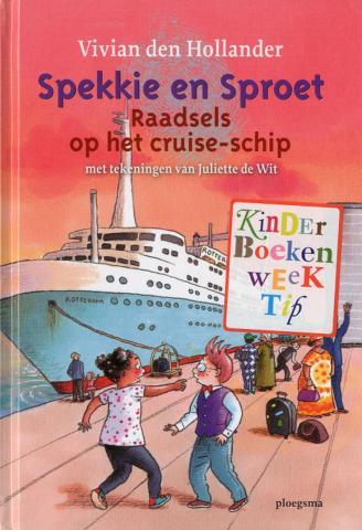 Spekkie en Sproet : raadsels op het cruiseschip
