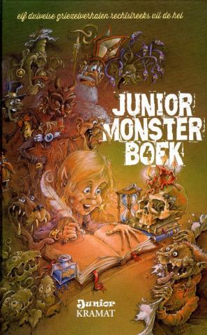 Junior monsterboek 4 : elf duivelse griezelverhalen rechtstreeks uit de hel
